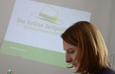 2017-02-25 Nicole Maisch kurz vor der Präsentation