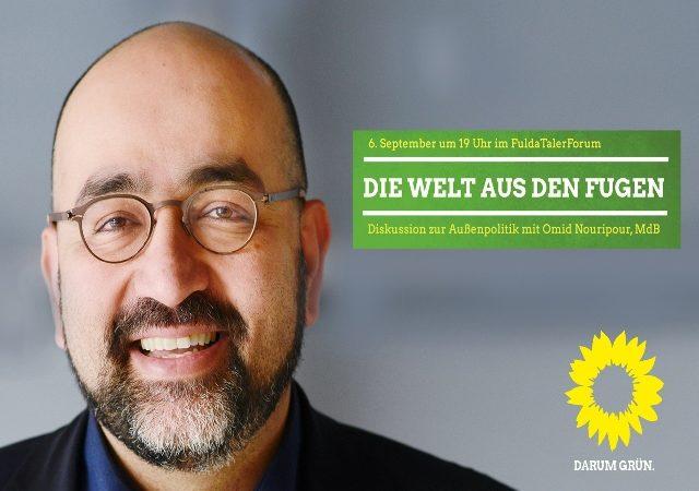 Omid Nouripour MdB, Buendnis 90/Die Gruenen Bundestagsfraktion
